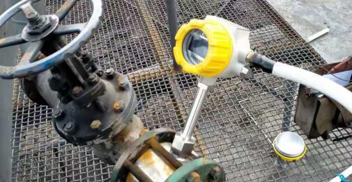 Application of target flowmeter loading device